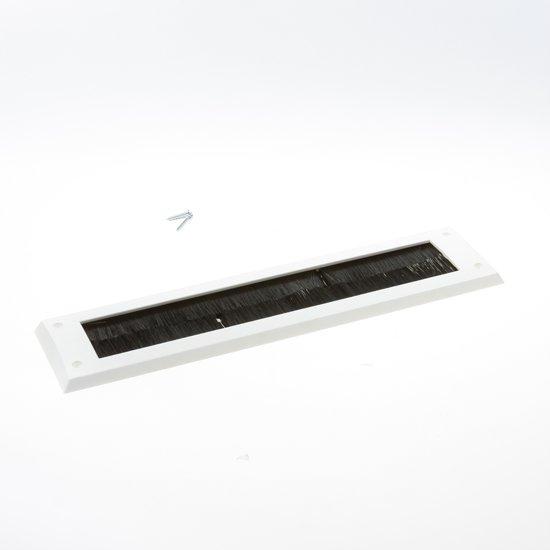Gezu Brievenbusborstel wit 340 x 80mm