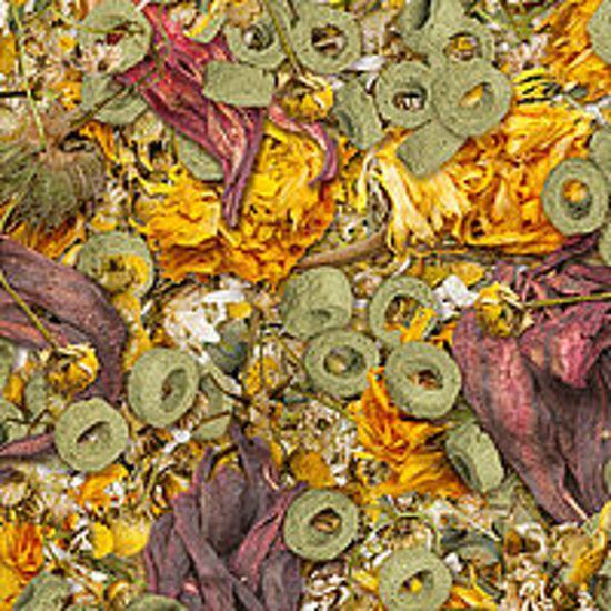 Sera Flowers'n loops 1000ml voer voor herbivoren landschilpadden