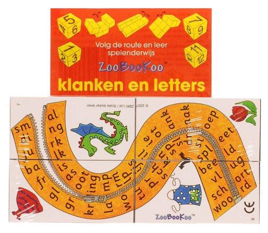 Boek cover ZooBooKoo kubusboek - Klanken en letters van Onbekend (Onbekend)