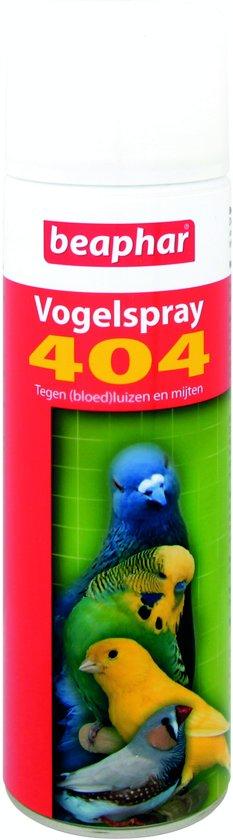Beaphar 404 vogelspray - 1 st à 500 ml