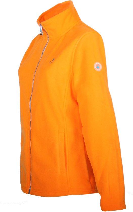 4xl Oranje 48 Dames Jenna Bjornson Vest Fleece Maat qYwRqpf