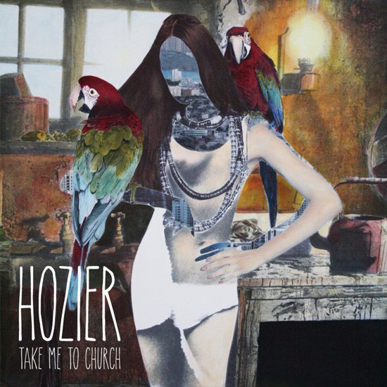 CD cover van Take Me To Church van Hozier