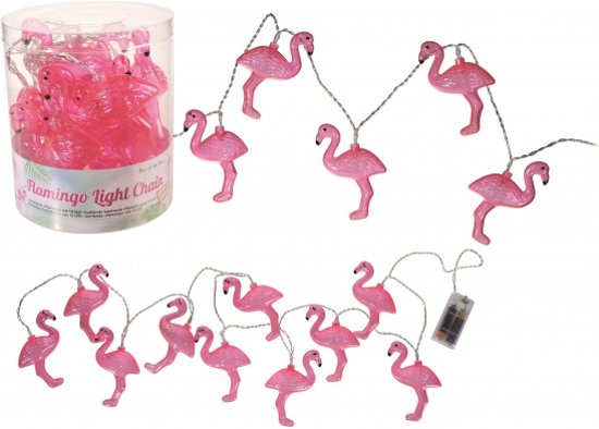 Decoratie LED verlichting flamingo