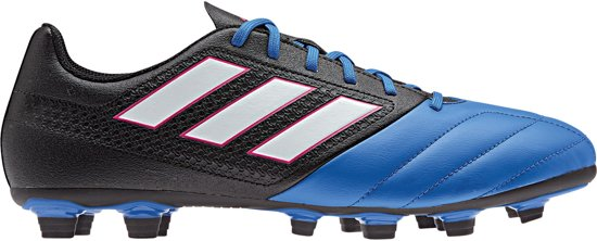 los angeles e31ae 6ccfb adidas adidas Ace 17.4 FXG Sportschoenen - Maat 42 - Mannen - zwartblauw
