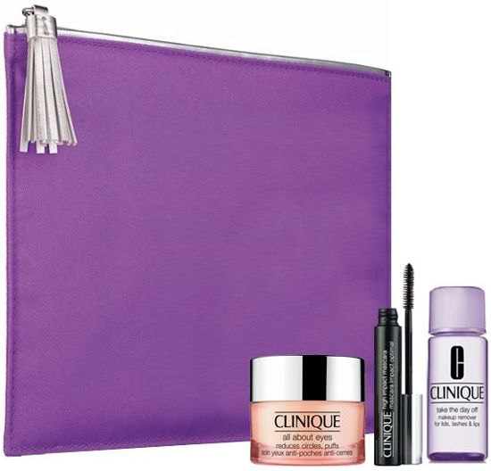 Clinique All about Eyes Gift Set - Geschenkset (4-delig)