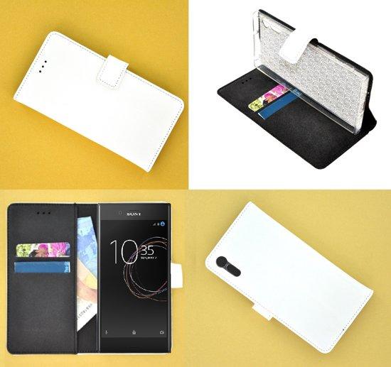 Sony Xperia XZs Wallet Bookcase smartphone hoesje - effen wit