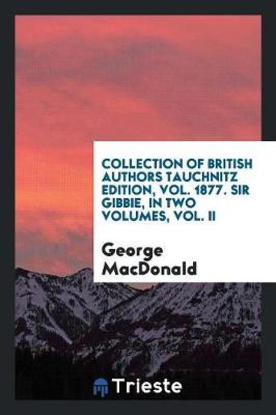 Sir Gibbie, Volume 1