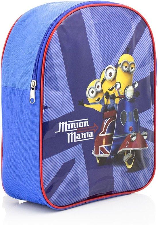 1fd878fc8a3 bol.com | Minions Mania Rugzak - Kinderen - Blauw/Geel