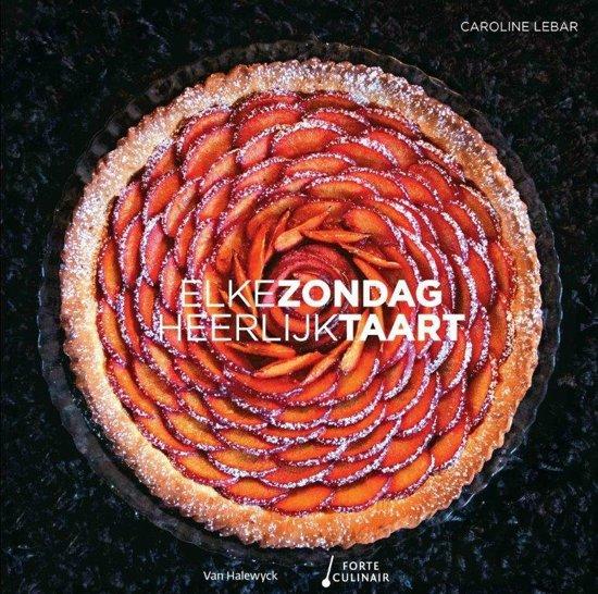 taart zondag bol.| Elke zondag heerlijk taart, Caroline Lebar  taart zondag