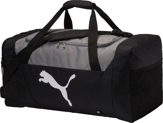 PUMA Fundamentals Sports Bag M Sporttas Unisex - Black
