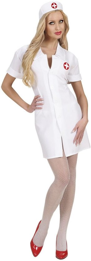Sexy verpleegster kostuum voor vrouwen - Verkleedkleding - Maat XL