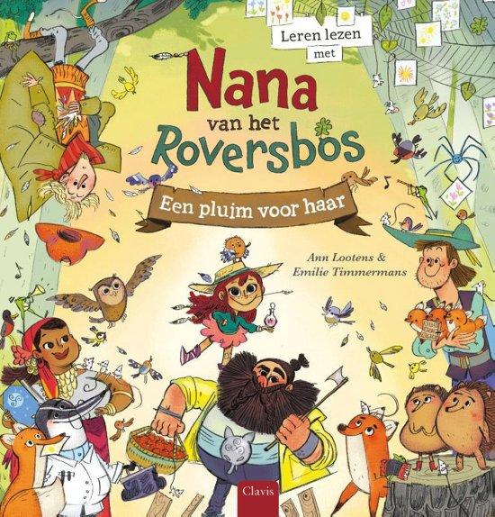 Leren lezen met Nana van het Roversbos