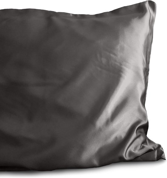 Sleeptime Beauty Skin Care Pillow - Kussensloop - 60x70 cm - Antraciet