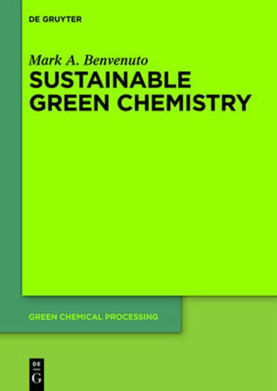 bol com | Sustainable Green Chemistry (ebook), William Carroll