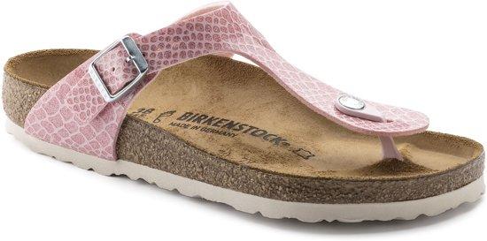 Birkenstock Slippers Dames Gizeh - 1009121  Rose