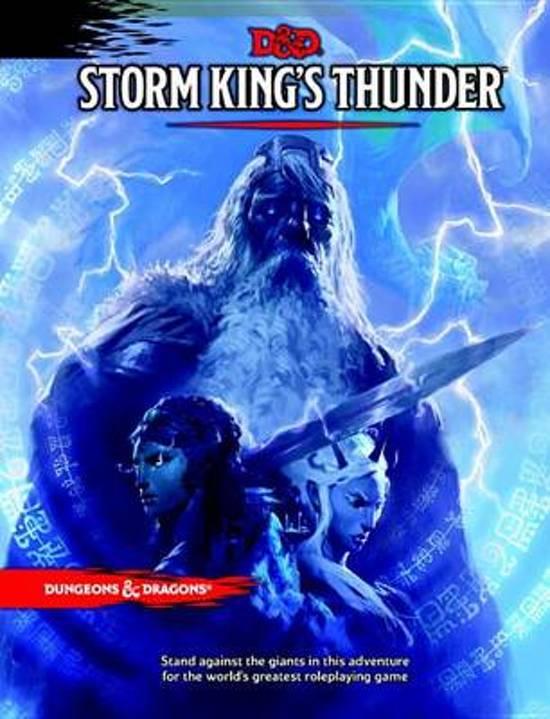 D&D 5.0 - Storm King's Thunder TRPG