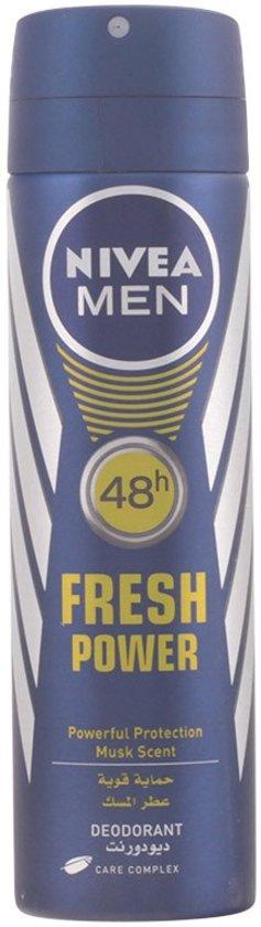 PROMO 5 stuks Nivea FRESH POWER - deodorant - spray 150 ml