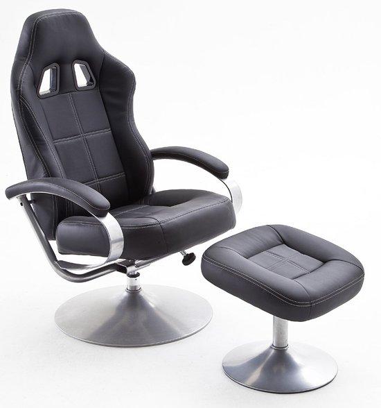 acheter en ligne 67337 5a1b4 bol.com | 24Designs Game & Relax Fauteuil Pro Racer 1 - Zwart