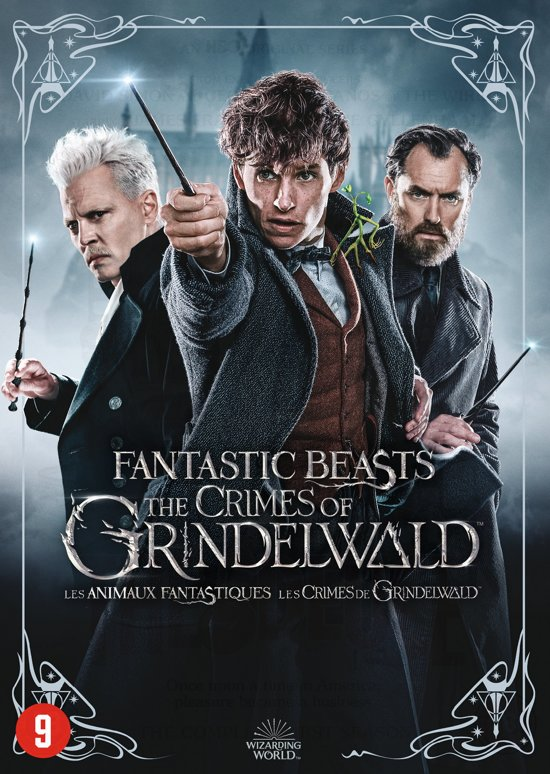 DVD cover van Fantastic Beasts: The Crimes of Grindelwald