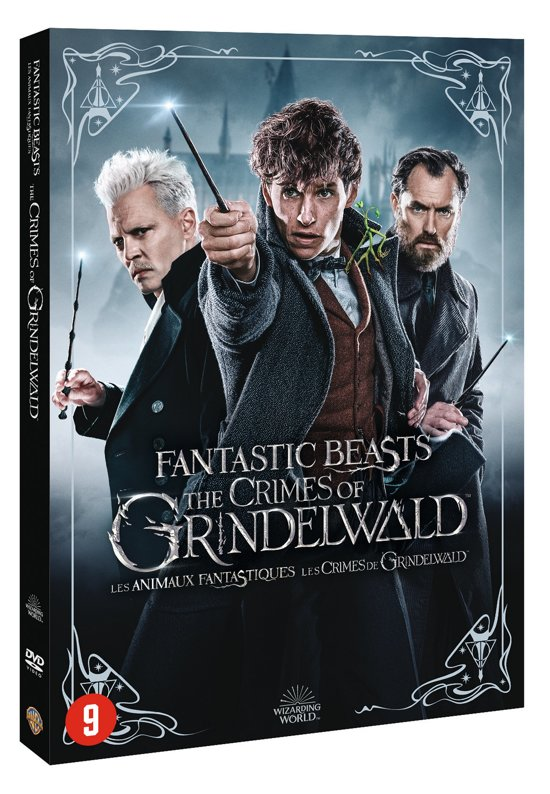 fantastic beasts 2 dvd release
