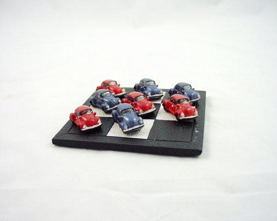 Afbeelding van het spel Boter, kaas en eieren - kevers - Blauw - Rood