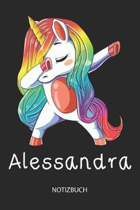 Alessandra - Notizbuch