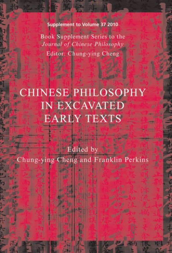 Chinese Philosophy in Excavated Early Texts