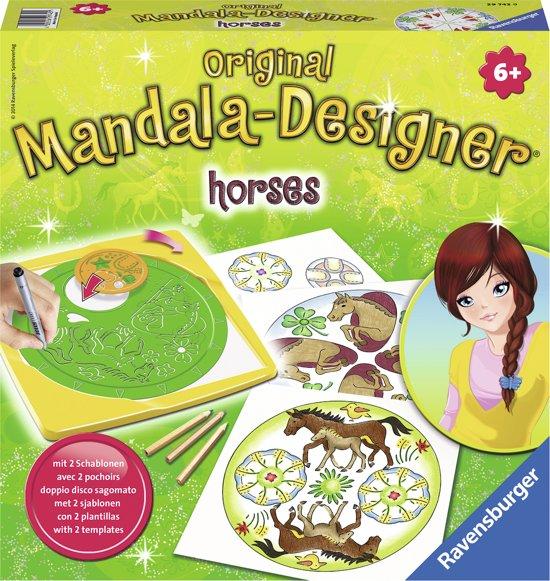 Ravensburger Mandala Designer® Horses 2 in 1
