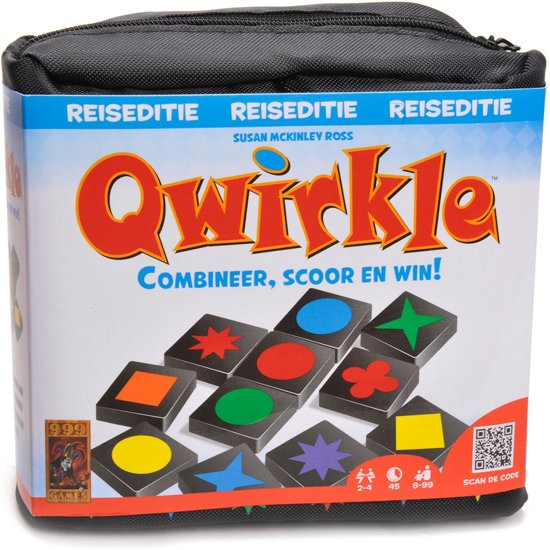 Qwirkle Reiseditie - Reisspel