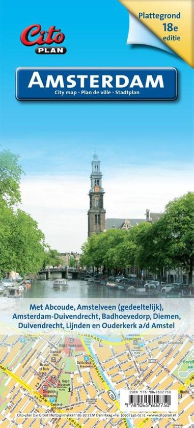 Citoplan - Plattegrond Amsterdam