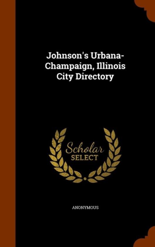 Johnson's Urbana-Champaign, Illinois City Directory