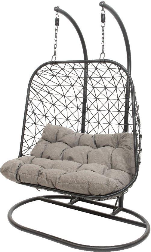 Standaard Egg Chair.Bol Com 24designs Relax Hangstoel Maui 2 Persoons Egg