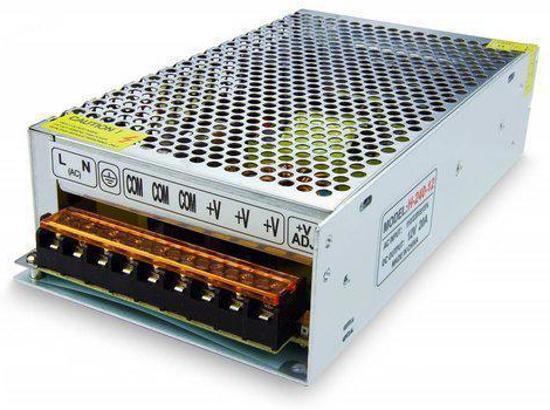 12V DC Geschakelde voeding voor LED strips - 240W - 20A
