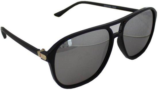 601ff5730151ac Zonnebril UV 400 Aviator Zwart Reflecterend