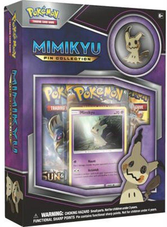 Afbeelding van het spel Pokémon Kaarten TCG Mimikyu Pin Collection C24
