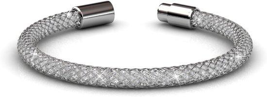 Yolora sieraden - Armband met Crystals from Swarovski ® - Silver Arm - Dutch Beauty Design