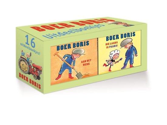 Boek cover Boer Boris - Boer Boris uitdeelboekjes van Ted van Lieshout (Hardcover)