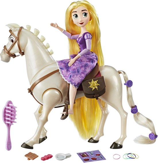 Disney Princess Tangled Maximus en Rapunzel Speelset