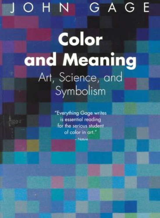 Bol Color And Meaning 9780520226111 John Gage Boeken