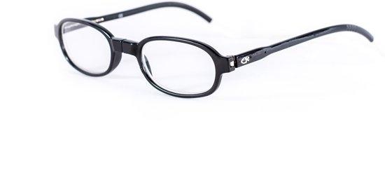 Easy Reader Magneetleesbril Rond zwart +4.00