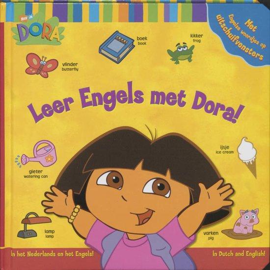 Boek cover Leer Engels Met Dora! van Phoebe Beinstein (Hardcover)