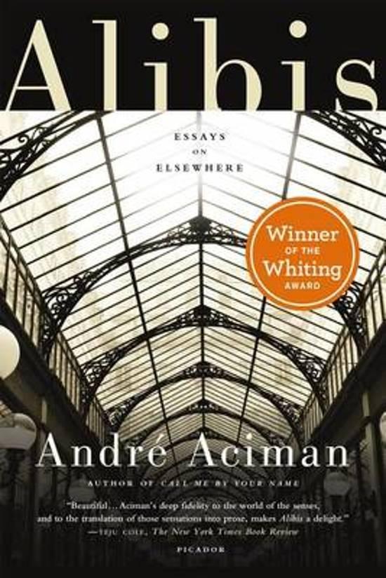 Boek cover Alibis van André Aciman (Paperback)