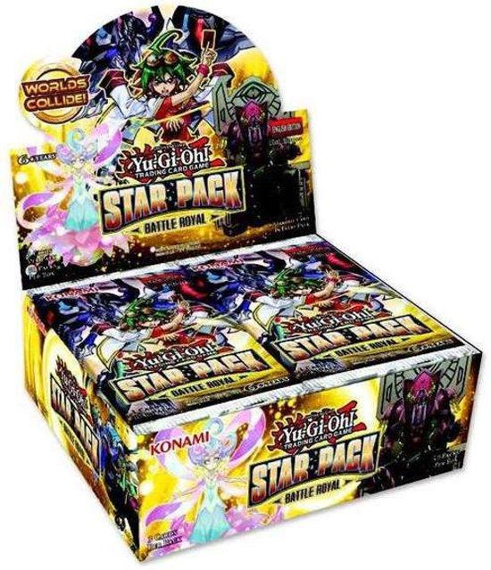 Afbeelding van het spel Yugioh Star Pack Battle Royal Booster Display