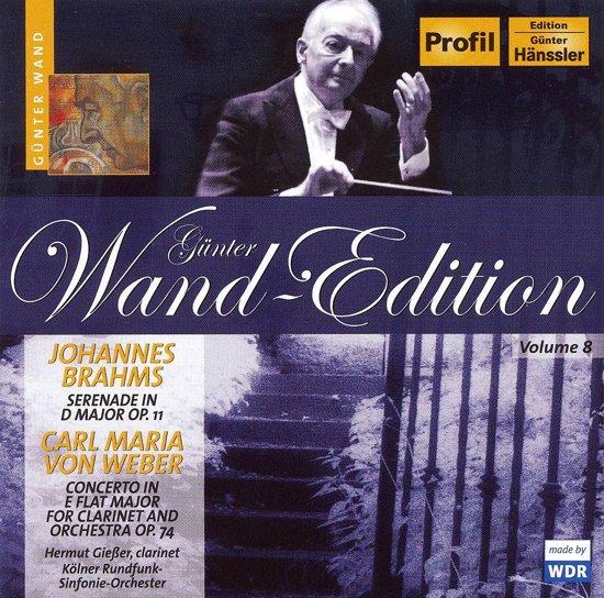 Brahms.Carl Maria Von Weber 1-Cd