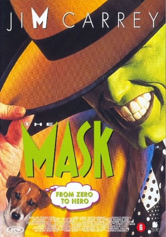 DVD cover van The Mask