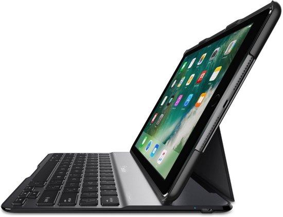 Belkin QODE™ Ultimate Lite-hoes met toetsenbord voor de iPad (2017) - Zwart in Bakkersdam