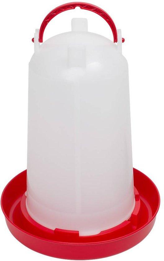 Bajonetdrinker inhoud 3 liter Rood