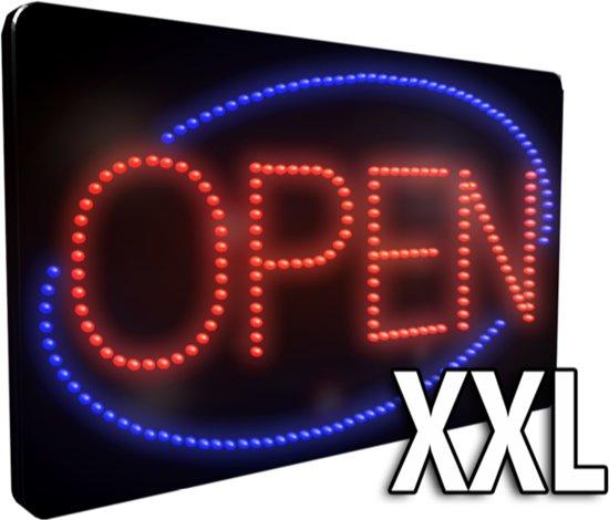Ongekend bol.com   LED open bord XXL - Licht reclame bord KG-07