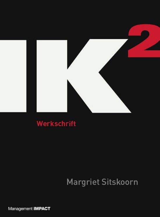 Boek cover IK2 - Werkschrift van Margriet Sitskoorn (Paperback)