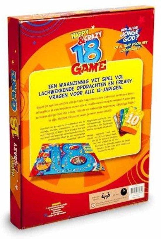 Leeftijdenspel 18+